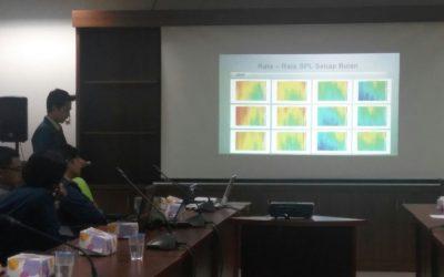 Mahasiswa Departemen Oseanografi Melaksanakan Program PKL di KKP