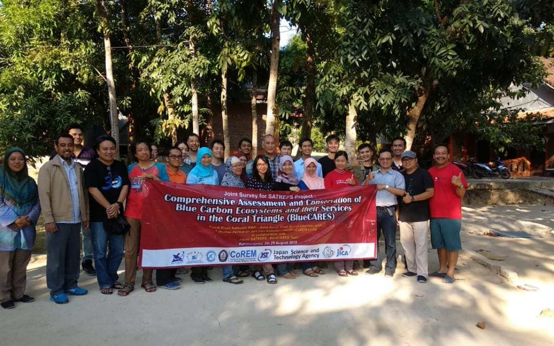 Joint Survey for SATREPS Project: Comprehensive Assessment and Conservation of Blue Carbon Ecosystems and their Services in the Coral Triangle (BlueCARES)