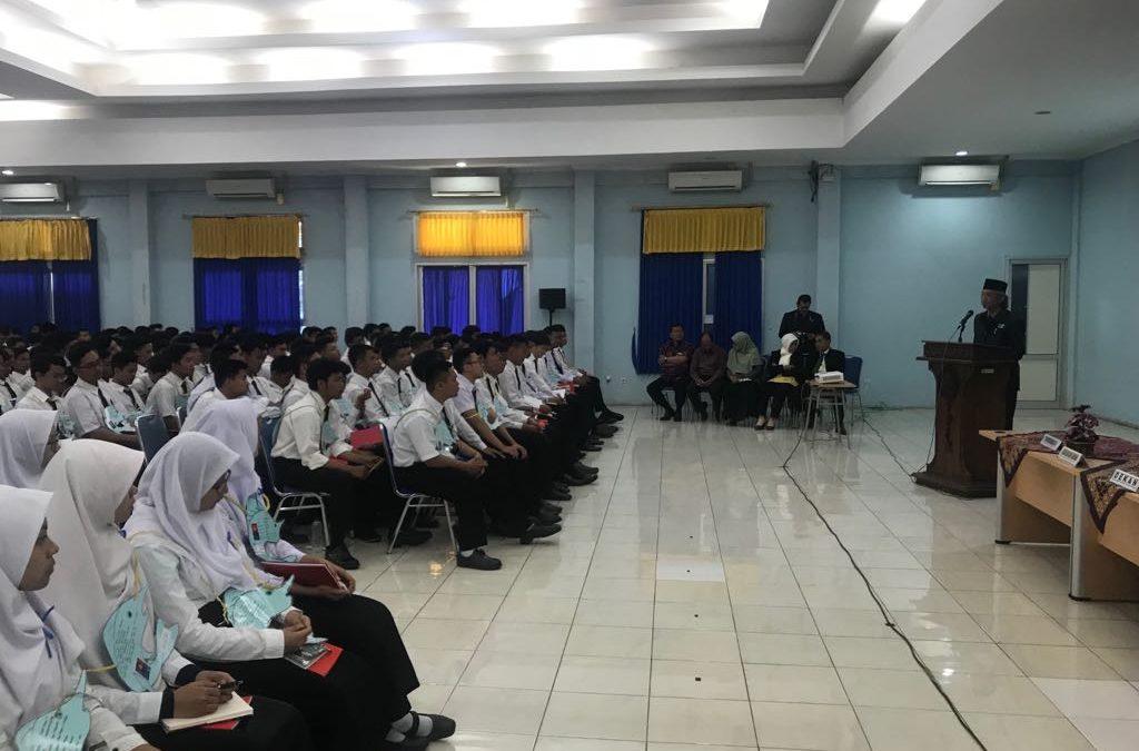 Acara ODM (Orientasi Diponegoro Muda) di Departemen Oseanografi