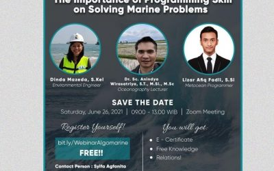 """Webinar """"The Importance of Programming Skill on Solving Marine Problems"""""""